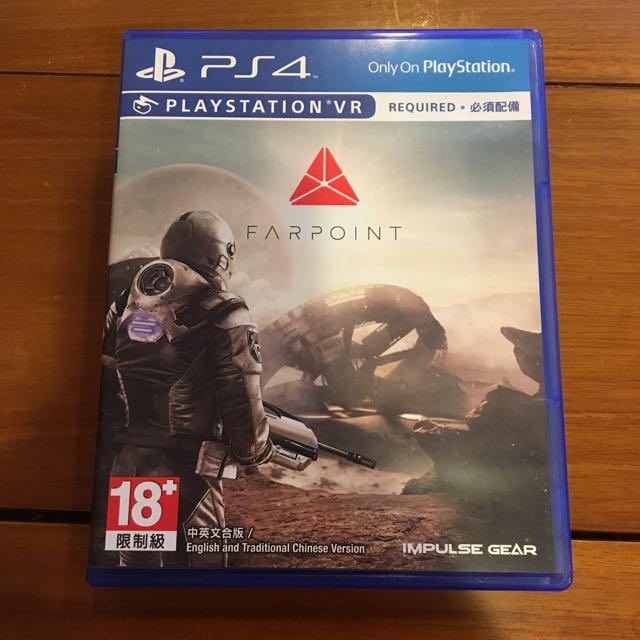 PS4 VR Farpoint 極點