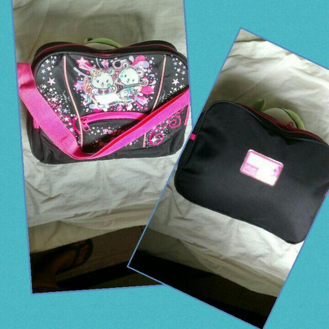 Puffy & Sparky School Bag