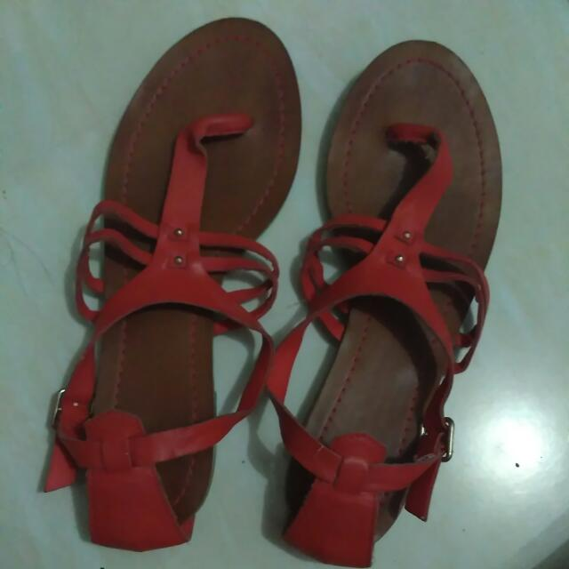 Pull & Bear leather Sandal (reprice)