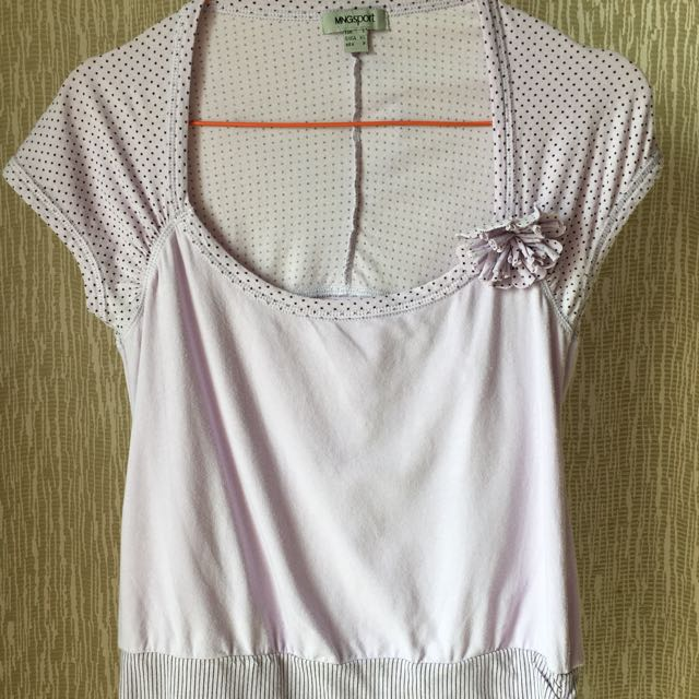 Purple MNG SPORT shirt