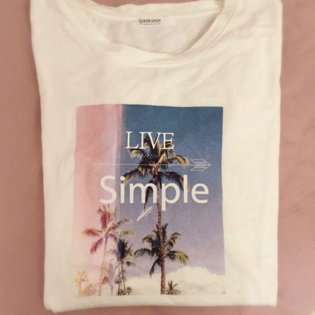 Queen Shop T Shirt 上衣 踢恤