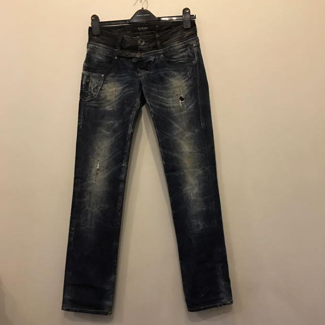 Rare Salsa Distressed Boyfriend Jeans