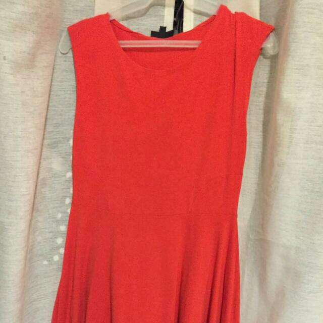 Red Top Shop Dress