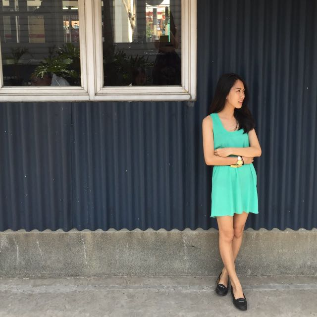 Rue 21 Green Tosca Dress