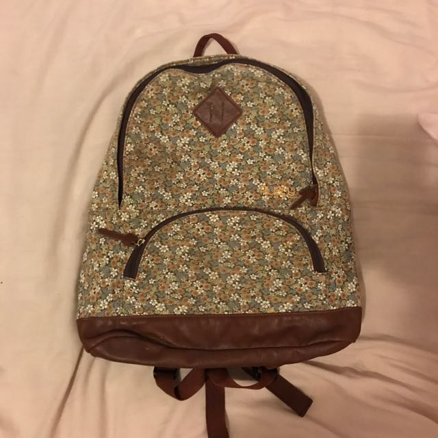 Rusty Floral Backpack