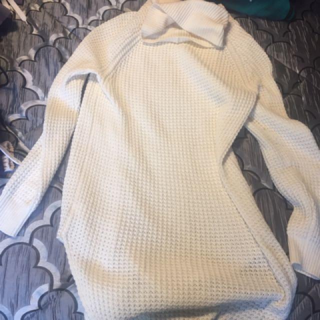Rw&co Turtle Neck Long Sweater