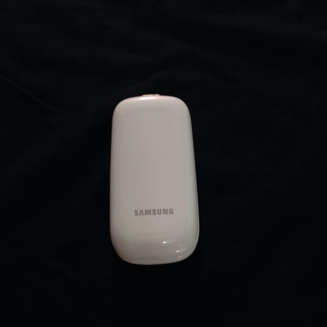Samsung CARAMEL E1272 (White, Batangan)
