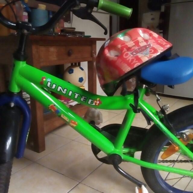 Sepeda Anak UNITED Uk 16