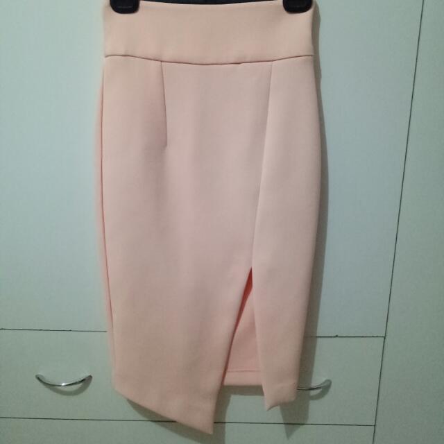 Sheike Peach Skirt