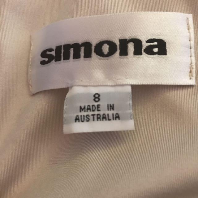 Simona Size 8 Dress