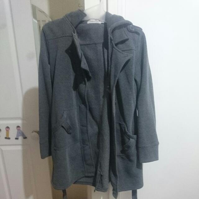 Size 10  dark Grey Jacket