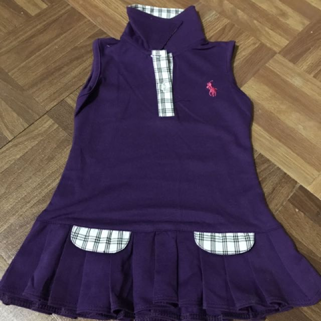 sleeveless baby dress