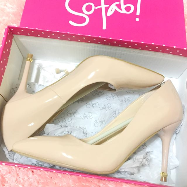 So Fab Nude Stiletto