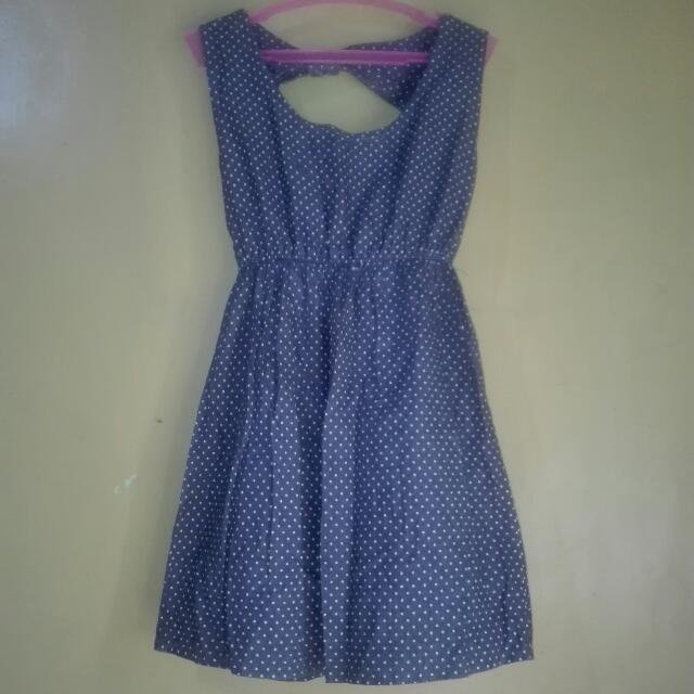 Soft Denim Mini Dress