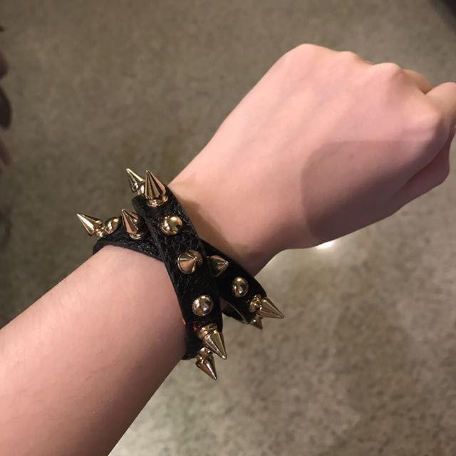 Spike Rocker Bracelete