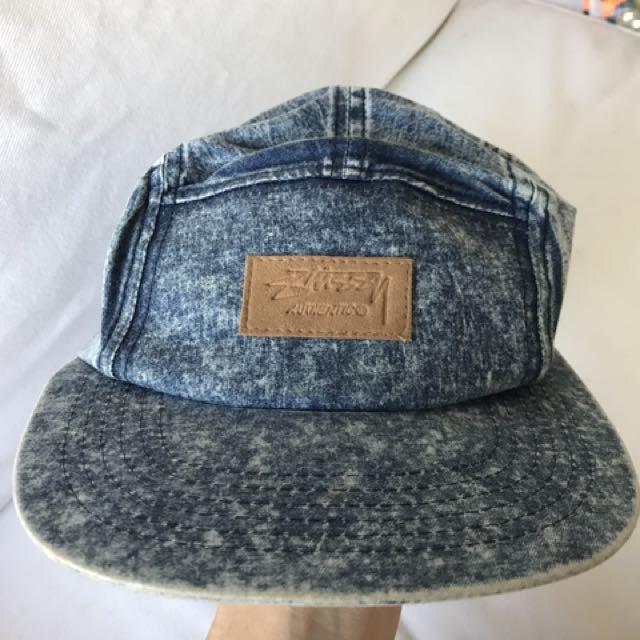 Stussy Denim Five Panel Hat