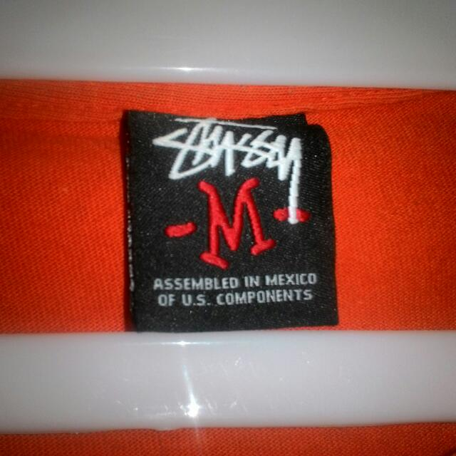 Stussy Size M Made In Mexico Kondisi 90% Original