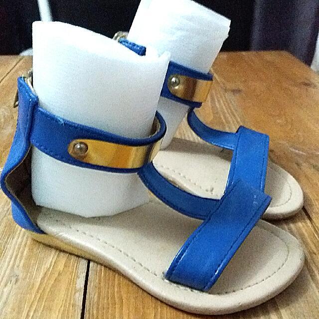 Sugar Kids Blue Sandals