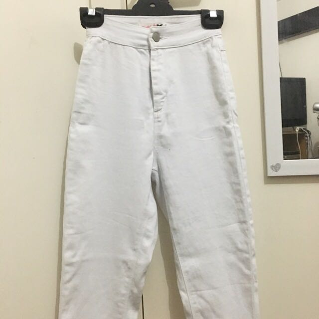 Supre Basic White Jeans