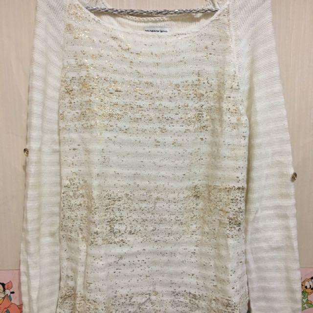 Sweater Putih Colorbox
