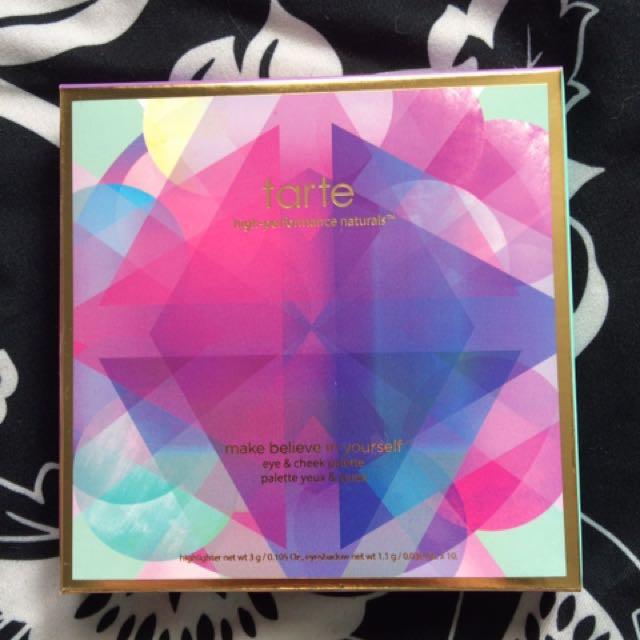 PRICE DROP Tarte Limited Edition Make Believe In Yourself Eye & Cheek Palette