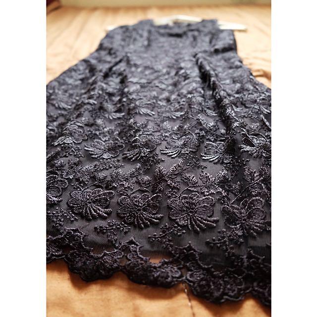 That Little Lace Black Dress