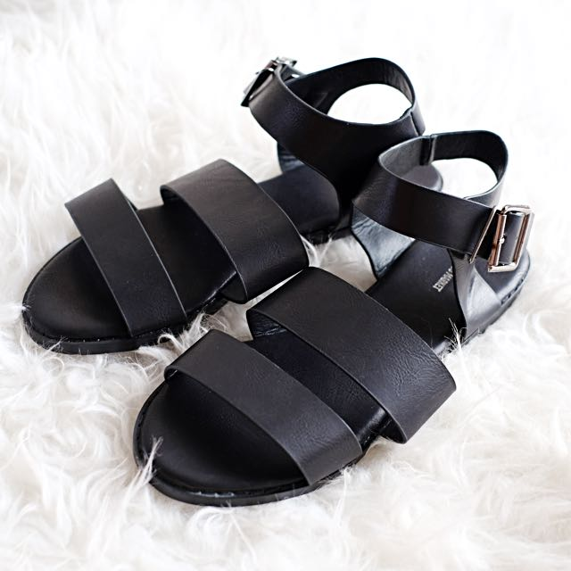 The Editor's Market Black Sandals - Size 37