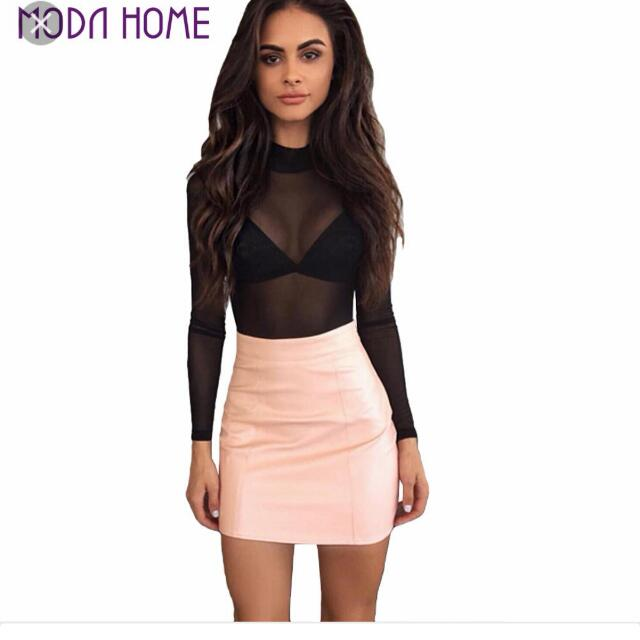 4849a326aaaf09 Tight Leather Skirt, Women's Fashion, Clothes, Pants, Jeans & Shorts on  Carousell