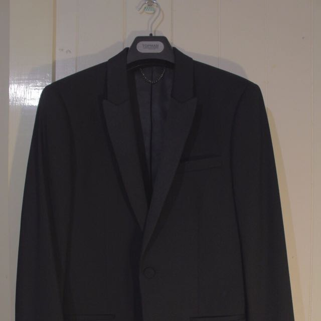 TOPMAN Business Black Blazer