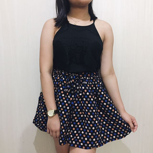 Topshop Pleated Skirt