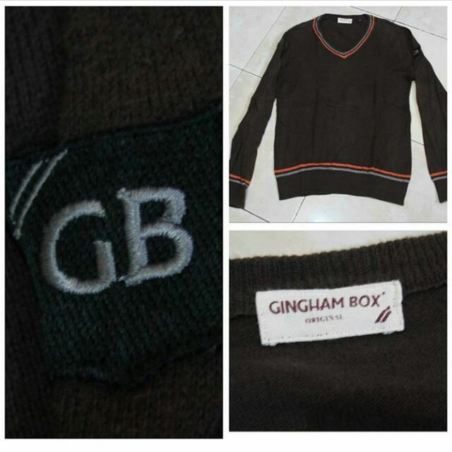T-shirt Gingham Box