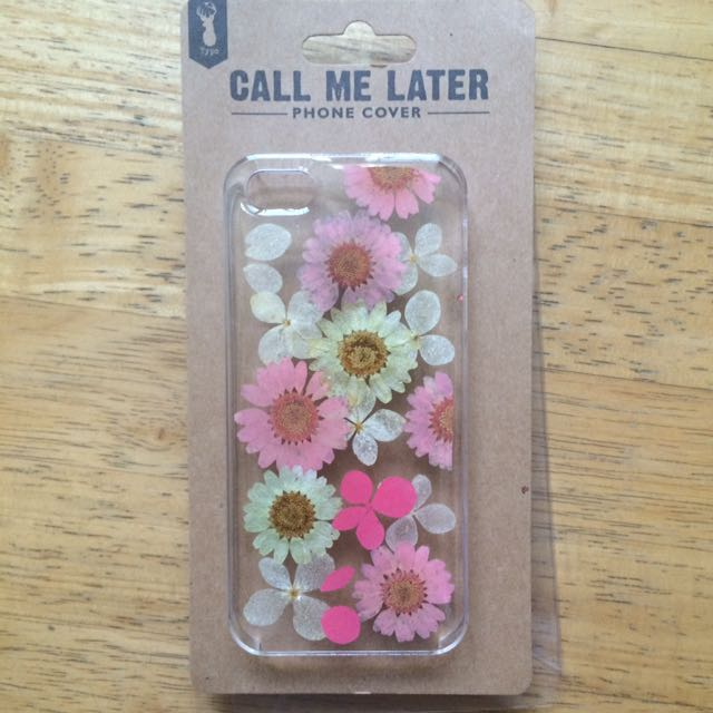 Typo iPhone 5/5s Floral Case