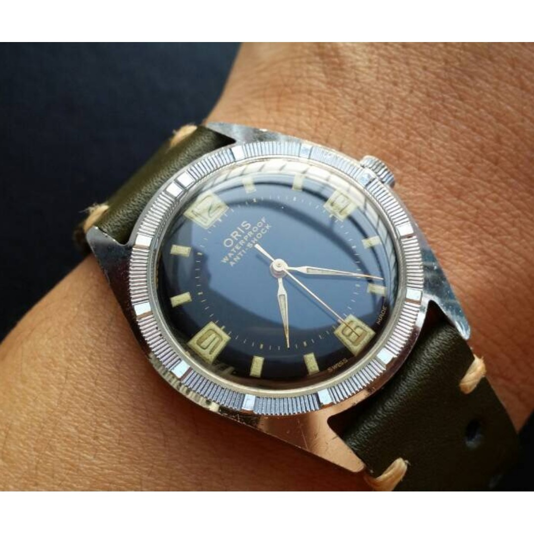 pre date watches day oris owned