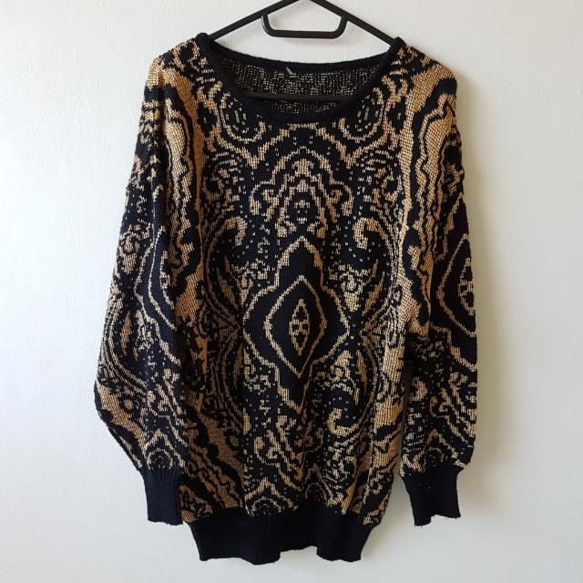 Vintage Knitted Sweater
