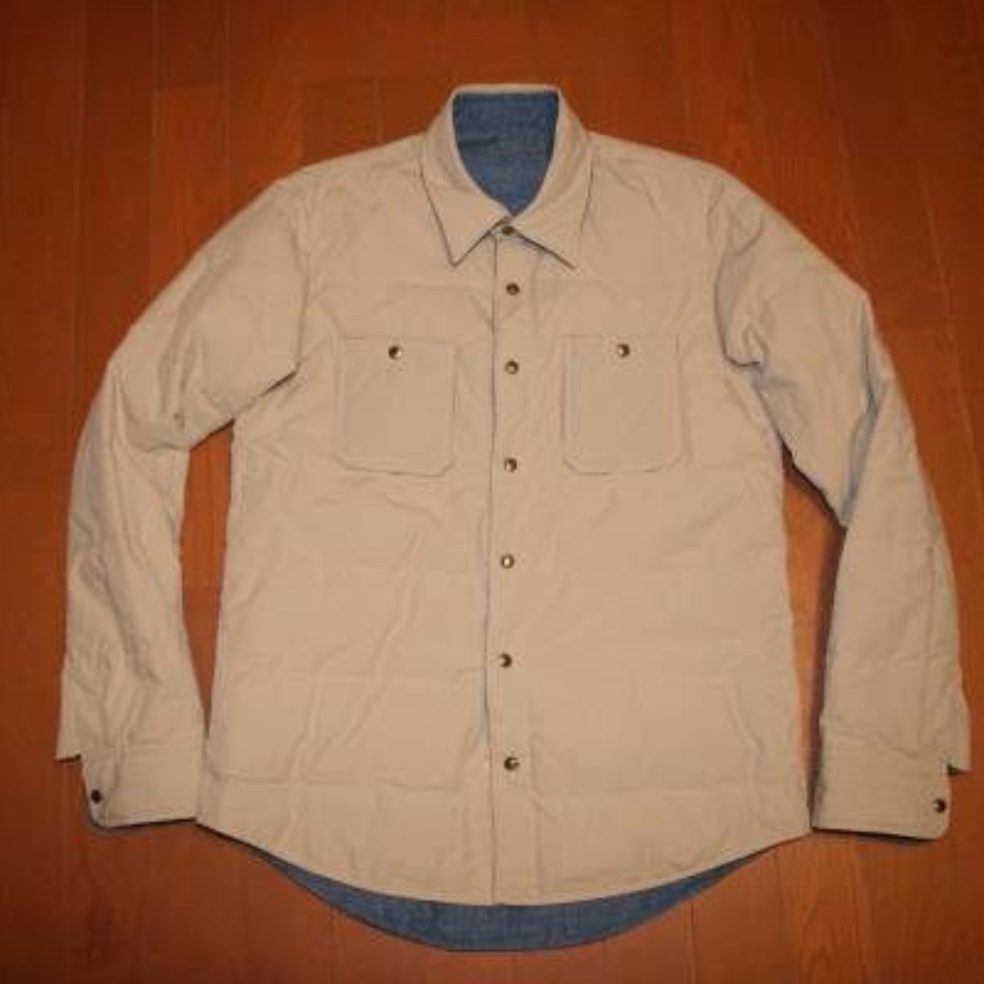 Visvim reversible kerchief down jacket kofu 藍染 sophnet ict 1