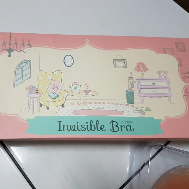 Younghearts Invisible Bra . Invisible Bra