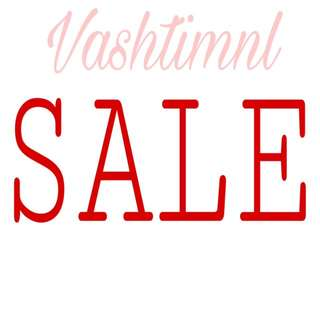 Sale On Selected Items