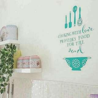 Kitchen Deco Wall Sticker Decals