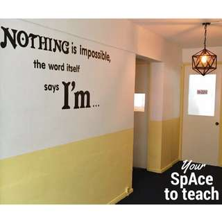 Increase Your Income! ❤Tuition/Training Classroom Space for Rent ❤ For Tutors, Teachers, Trainers
