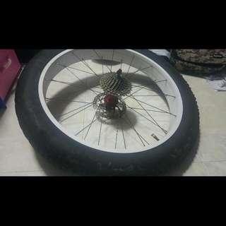 Fat Bike Rear Wheel