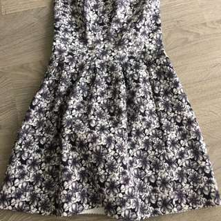 Floral Summer Bandage Dress