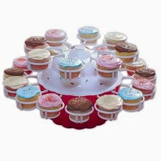 Merry go round Cupcake server