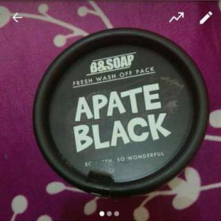 [Diskon 20%] B&soap Apate Black Mask
