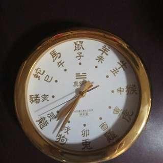 香港正品 李居明八運風水 Feng Shui 吉祥物 鎮宅 【真銅鐘】 化五黄二黑