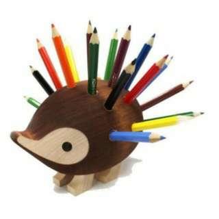 降!850元!全新正品!捷克帶回24色刺蝟造型色鉛筆