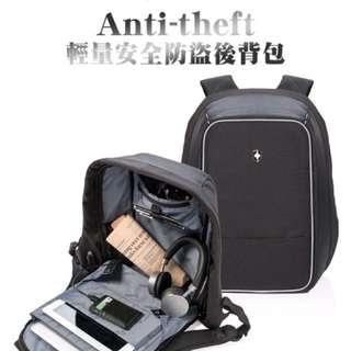 SWISS PEAK Anti-theft 輕量安全防盜後背包 (代理商公司貨)