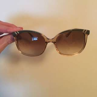 Chloé Authentic Large Gradient Sunglass