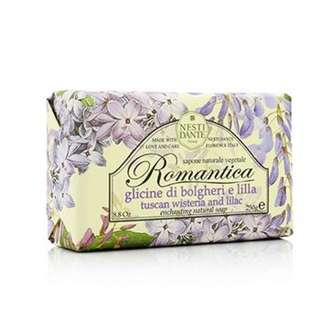 Romantica Enchanting Natural Soap - Tuscan Wisteria & Lilac