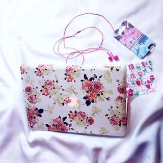 Floral Design Macbook Cases