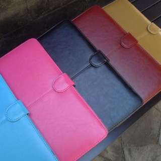 PLAIN COLOR LEATHER MACBOOK CASE